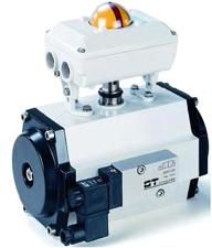 Actuadores pneumaticos duplo ou simples efeito NA ou NF