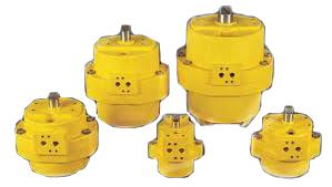 Actuadores pneumaticos rotativos de duplo efeito