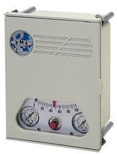 Controladores pneumaticos de temperatura e pressao