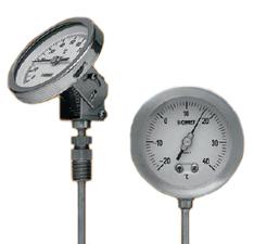 Termometros bimetalicos inox