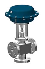 Valvulas de 3 vias desviadora misturadora de microcaudal 3003