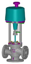 Valvulas de controlo electrico de 3 vias misturadora 2600EP