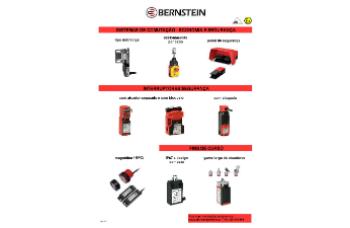 BERNSTEIN – soluções para a SEGURANÇA DE MÁQUINAS